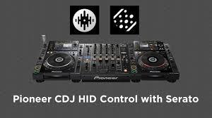 using pioneer cdjs in hid mode with serato dj scratch live dj