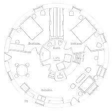 round house earthbag house plans