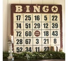 The Bingo Barn Pottery Barn Bingo For Sytycd Week 2 Funky Junk Interiorsfunky