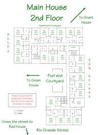 detailed floor plans floor plans hardin house private women s dormitory university of