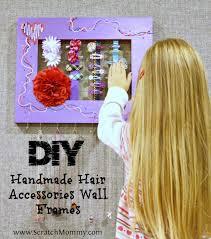 handmade hair accessories handmade hair accessories wall frames a unique diy project