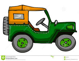 cute jeep drawing clipart free