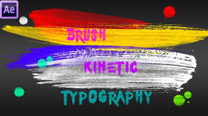 tutorial kinetic typography after effects brush kinetic typography after effects tutorial youtube