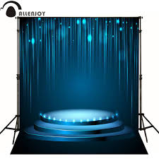 backdrops for sale allenjoy photographic background stage sparkling blue line photo