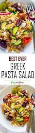 Best Pasta Salad by Ultimate Greek Pasta Salad Recipe Chefdehome Com