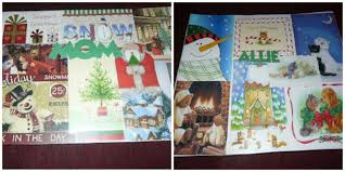 how to create awesome placemats using greeting cards for christmas