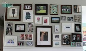 How To Decorate A Wall by Living Room Makeover Part 5 Gallery Wall The Turquoise Home