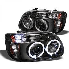 Ford Explorer Black - spyder 1995 2001 ford explorer headlights