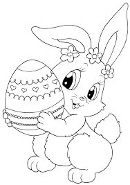 articles with free online easter bunny coloring pages tag bunny