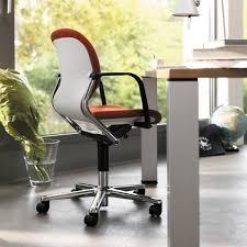 chaise visiteur bureau chaise de bureau contemporaine à roulettes avec accoudoirs