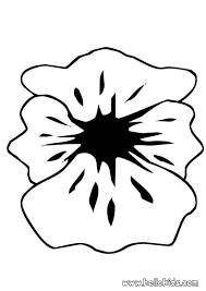 poppy petals coloring pages hellokids