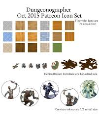 World Map Actual Size by Dungeonographer October 2015 Monthly World Map Icons Any Editor