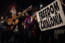 catalonia set for general strike over independence poll violence
