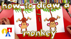 how to draw a monkey youtube