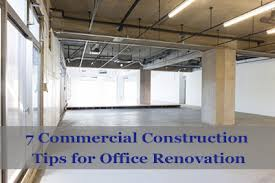 office renovation commercial construction tips for office renovation