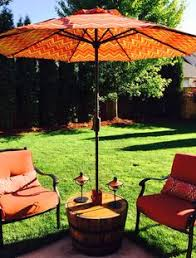 outdoor table umbrella and stand patio umbrella stand my style pinterest patio umbrellas