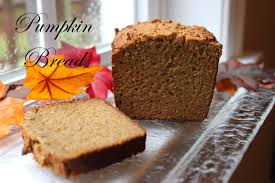 just in time for thanksgiving pumpkin bread gf df homegrown