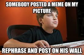 Kid On Computer Meme - computer kid zac memes quickmeme