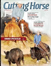 Jacee Ballard Utah Ncha Cutting Horse Chatter By Cowboy Publishing Group Issuu