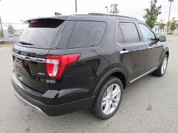 Ford Explorer Trunk Space - 2017 new ford explorer limited 4wd at watertown ford serving