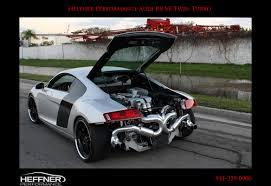 Audi R8 Turbo - world u0027s first twin turbo audi r8 readied by heffner performance