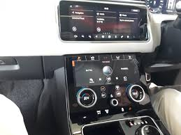 range rover velar inside car review new range rover velar women on wheels