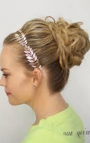 serre tãªte mariage coiffure avec serre tete les tendances mode du automne hiver 2017