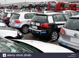 volkswagen new car car scrap yard loading approx park group picture loading new