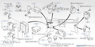 electrical parts body u2014 illustration 1 subaru forester