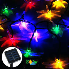solar garden tree lights best dragonfly solar led tree lights solar