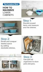 lower kitchen cabinet storage ideas how to efficiently organize your lower kitchen cabinets no