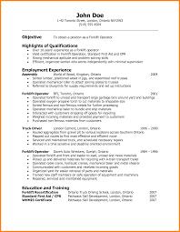 resume format for mechanical 7 forklift resume sample warehouse clerk 7 forklift resume sample