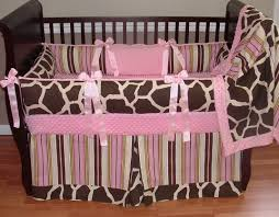 Girls Crib Bedding Crib Bedding Giraffe Baby Crib Design Inspiration