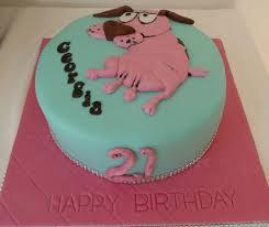 courage the cowardly dog courage the cowardly dog birthday cake wedding u0026 birthday cakes