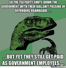 Tea Party Meme - tea party bullshit by dedede meme center