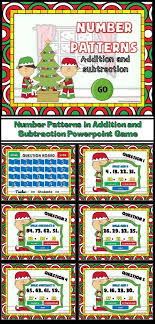 pattern practice games number patterns christmas powerpoint game number patterns number
