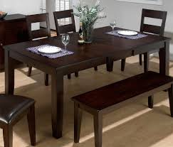 best dining table the best dining room table with bench for charming night homesfeed