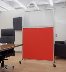 rolling room dividers hush screen portable divider
