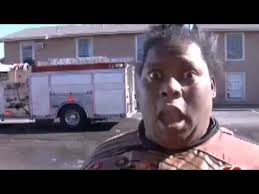 Black Lady Meme - oklahoma woman gives an interview after fire review youtube