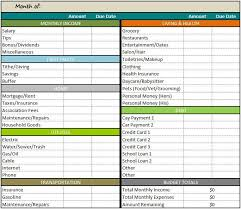 How To A Spreadsheet For Monthly Bills Best 25 Budget Templates Ideas On Bill Template