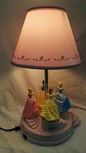 disney princess carousel animated musical talking motion lamp for