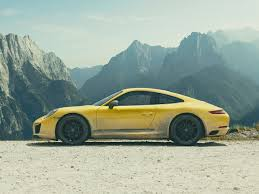 yellow porsche side view discover the 911 carrera t the purest of all 911s soon available