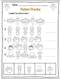 kindergarten thanksgiving math ela common packet