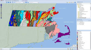 A Map Of Massachusetts by State Library Of Massachusetts Massachusetts Interactive Mapping