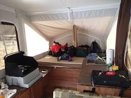 jeep tent inside pop up camper alyssa v nature