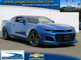 blue chevrolet camaro blue chevrolet camaro zl1 for sale in