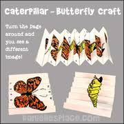 butterfly caterpillar and inchworm crafts