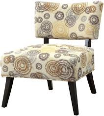 Armless Slipper Chair Chairs Skyline Armless Accent Chair Upholstered Chair Burke