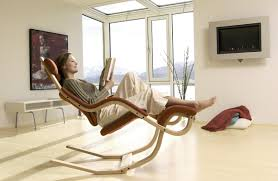 Reclining Chair And A Half Leather Modern Recliner Chair 17893