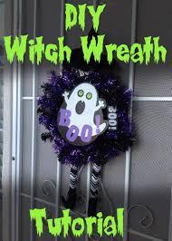 dizzy design studio halloween witch wreath tutorial